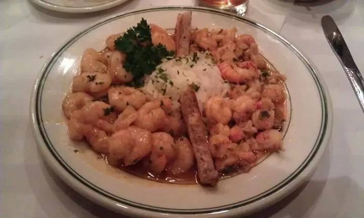 Shrimp Etouffee a la Bon Ton