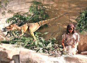 A Blind Velociraptor?