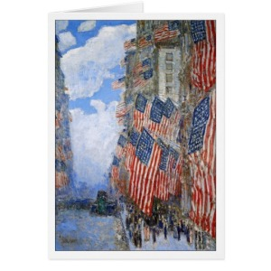 Childe Hassam's July 4th