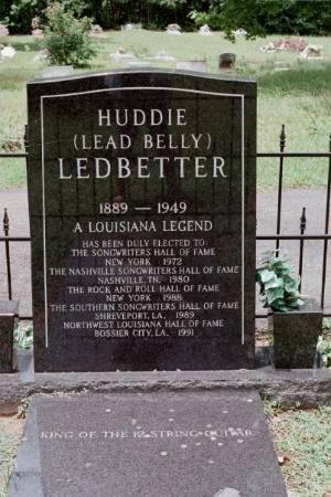 Huddie is Moorinsport's most famous resident.  You know him as Leadbellyl